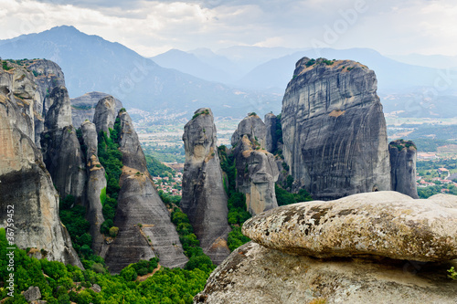 Fotografie, Obraz  Mountains in Meteora, Greece