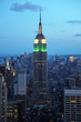 Empire State Building am Abend