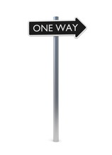 One Way Sign 5