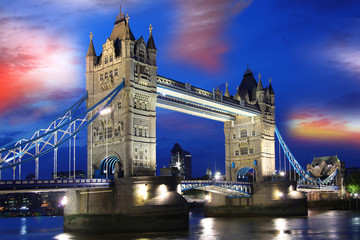 FototapetaFamous Tower Bridge, London, UK