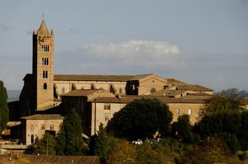 Fototapeta na wymiar San Clemente in Santa Maria dei Servi