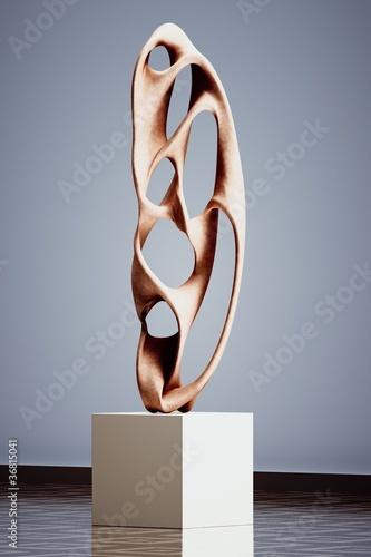 Fotografie, Obraz  Sculpture moderne