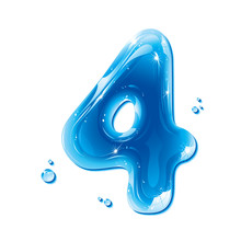 ABC Series - Water Liquid Number Four