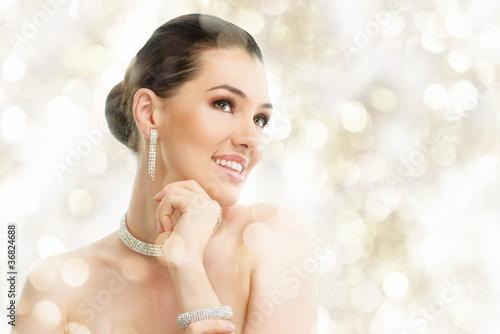 Fotografía  woman with jewelry