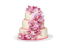 Traditional Wedding Cake With ...