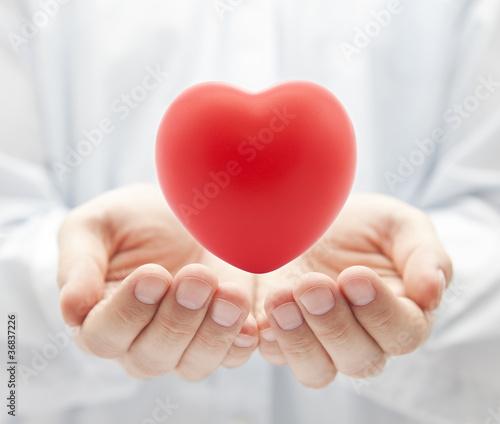 Fotografia  Health insurance or love concept