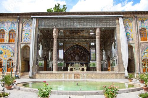 Golestan-takht, Golestan palace, Tehran, Iran