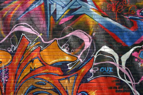 Graffiti Wallpaper Mural