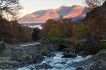 Ashness Bridge And Skiddaw