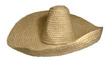 Straw Braided Sombrero