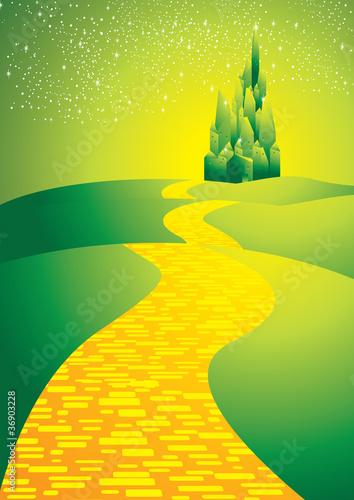 Obraz na plátně  yellowbrickroad