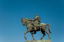 Statue Maréchal Joffre  à Pa...