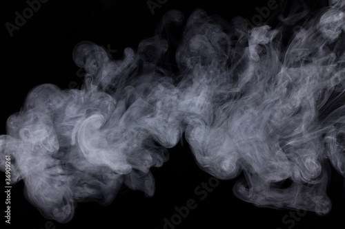 Fotografie, Obraz  Abstract Smoke Background