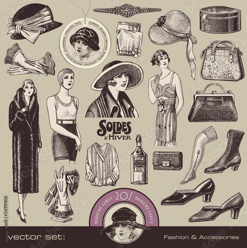 retro-zestaw-kobiecych-akcesoriow-z-lat-20