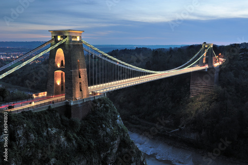 Papiers peints Pont Clifton suspension bridge