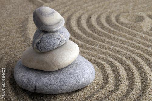 Acrylic Prints Stones in Sand Stone
