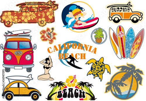 California vector. Beach cliparts buy this