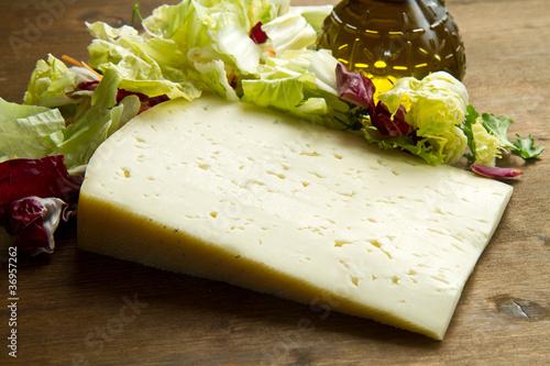 formaggio Asiago Canvas Print