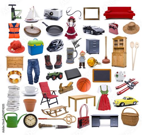 Fotografia  Viele Verschiednen Gegenstände