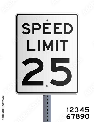 Fotografía  Speed limit