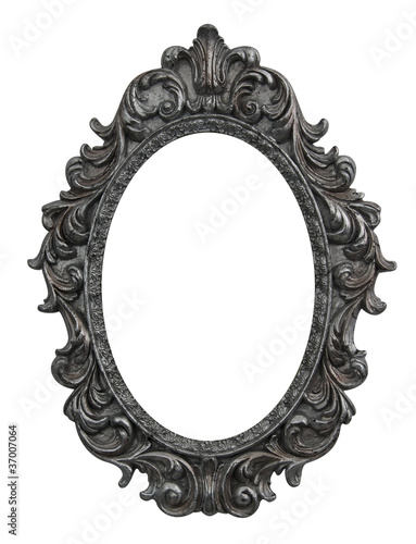 Baroque oval frame - Buy this stock photo and explore similar images ...