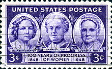 100 Years Of Progress Of Women. US Postage.
