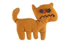 Fabric Teddy Cat