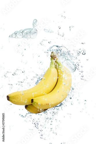 In de dag Opspattend water banane splash