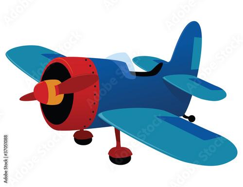 In de dag Vliegtuigen, ballon Aeroplane