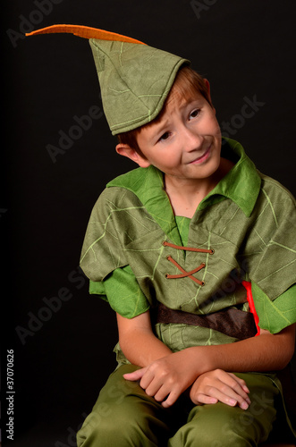Photo  Portrait Peter Pan