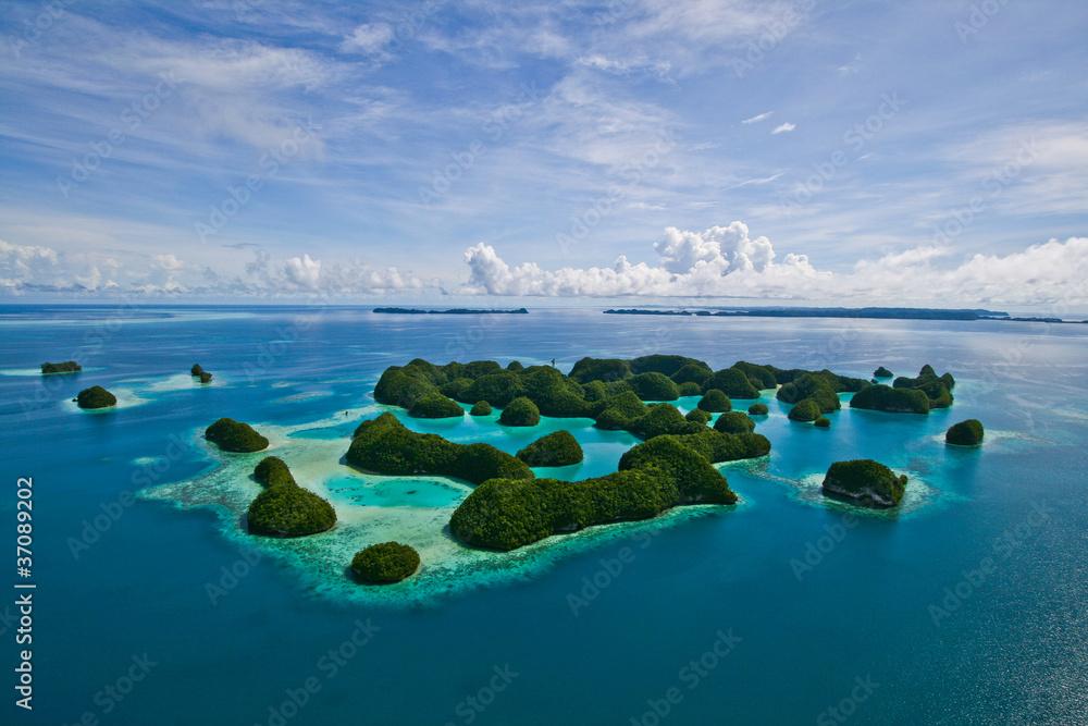 Fototapety, obrazy: 70 islands Palau.