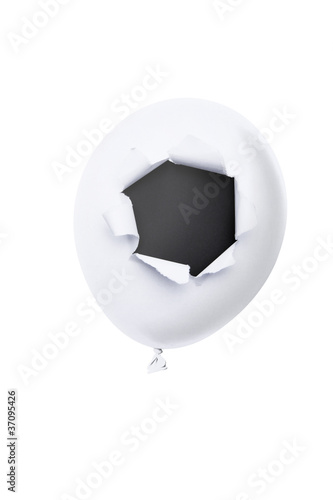 Valokuva Luftballon mit Loch