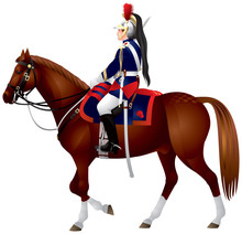 French Republican Horse Guard