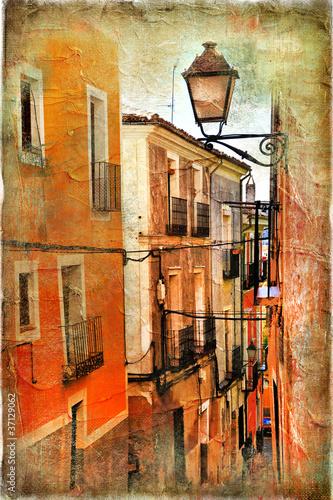 stare-ulice-hiszpanii-obraz-artystyczny