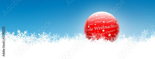 Standard Weihnachtsgrüße.Weihnachtsgrüße Frohe Weihnachten Glaskugel Schnee Buy This