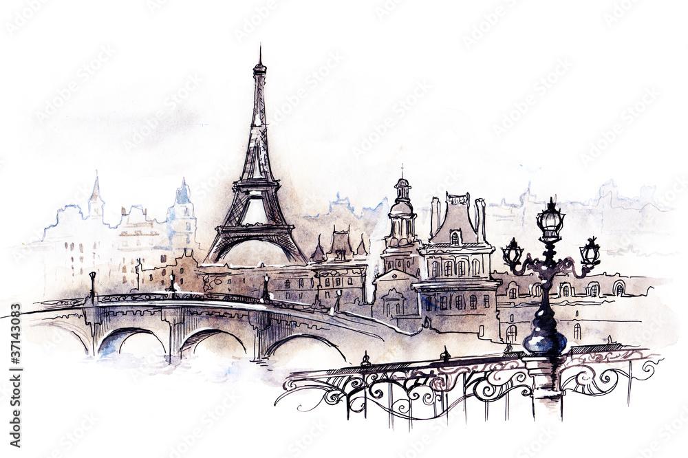 Fototapety, obrazy: Paris (series C)