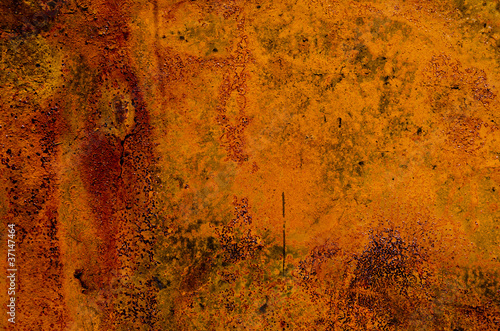 old rusted tin background