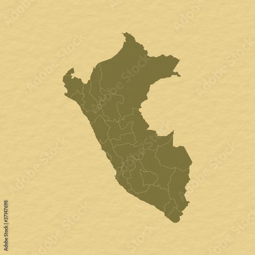 Photo Map of Peru