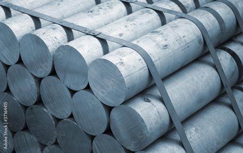Photo Aluminium raw material