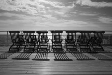 Deckchairs On Queen Mary 2