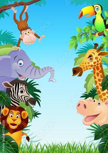 kolorowe-male-zwierzatka-safari-dla-dzieci