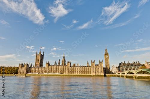Fotografía  Houses of Parliament at London, England