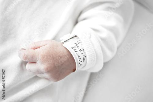 Fotografie, Obraz  bracelet de naissance