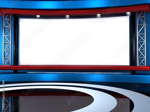 Studio  tv Canvas-taulu