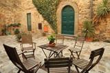 Włoskie podwórko - Toskania