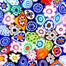 Colorful Modern Glass Art Texture
