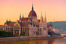 The House Of Parliament, Budap...