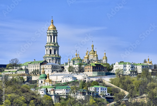 Spoed Foto op Canvas Kiev Kiev Pechersk Lavra Orthodox monastery