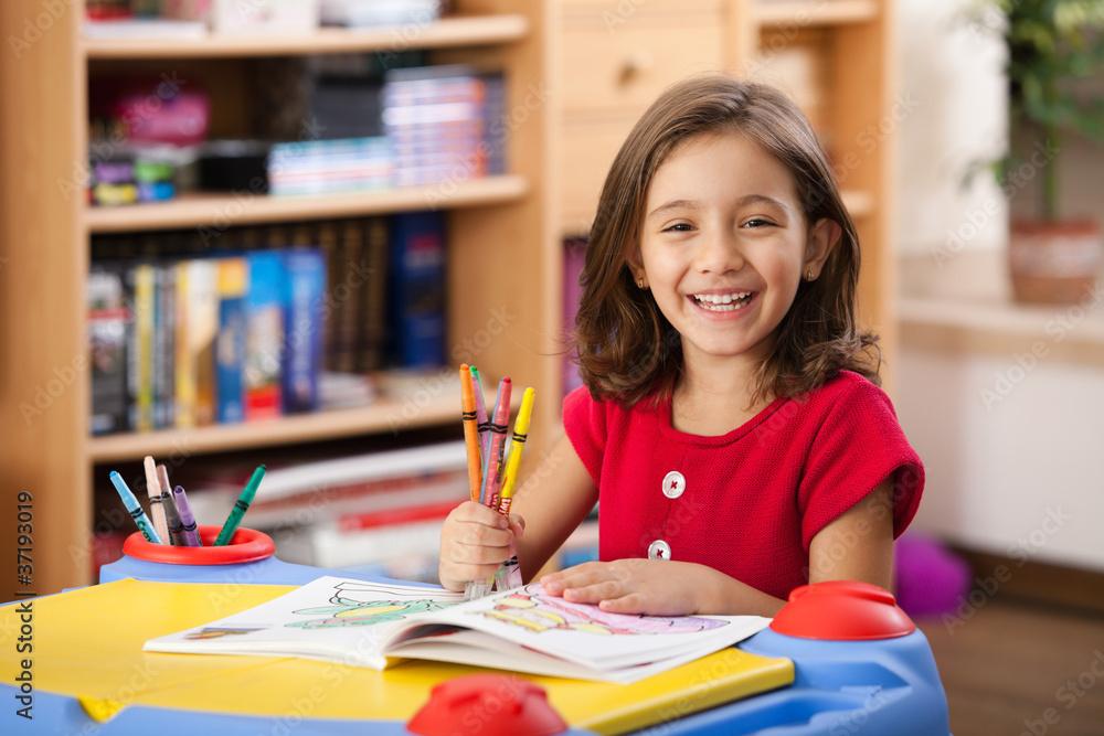 Fototapety, obrazy: little girl
