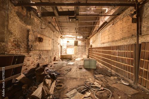 Papiers peints Les vieux bâtiments abandonnés old abandoned factory